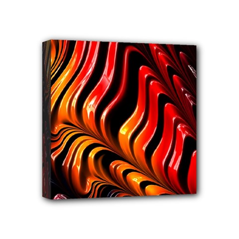 Fractal Mathematics Abstract Mini Canvas 4  x 4