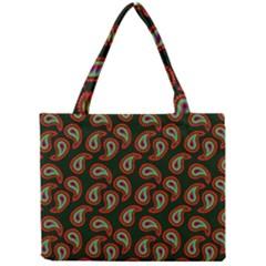 Pattern Abstract Paisley Swirls Mini Tote Bag