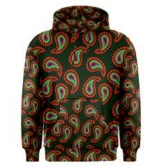Pattern Abstract Paisley Swirls Men s Pullover Hoodie