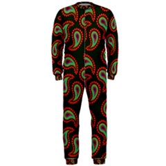 Pattern Abstract Paisley Swirls OnePiece Jumpsuit (Men)