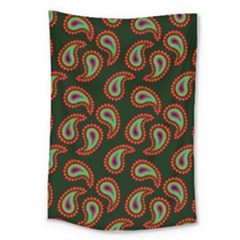 Pattern Abstract Paisley Swirls Large Tapestry