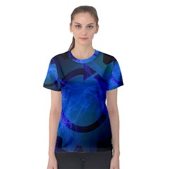 Particles Gear Circuit District Women s Sport Mesh Tee