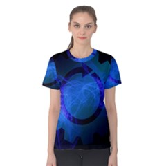 Particles Gear Circuit District Women s Cotton Tee