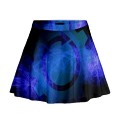 Particles Gear Circuit District Mini Flare Skirt