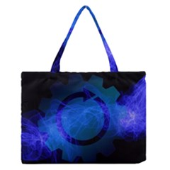 Particles Gear Circuit District Medium Zipper Tote Bag
