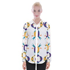 Pattern Circular Birds Shirts