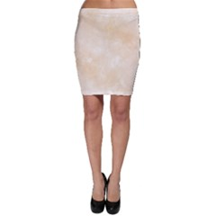 Pattern Background Beige Cream Bodycon Skirt