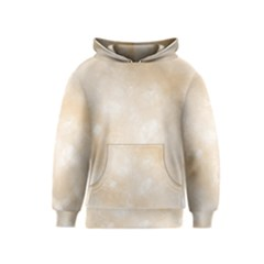 Pattern Background Beige Cream Kids  Pullover Hoodie