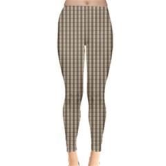 Pattern Background Stripes Karos Leggings