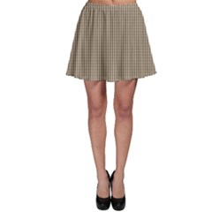 Pattern Background Stripes Karos Skater Skirt