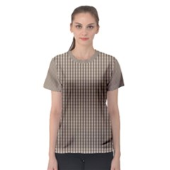 Pattern Background Stripes Karos Women s Sport Mesh Tee