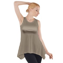 Pattern Background Stripes Karos Side Drop Tank Tunic