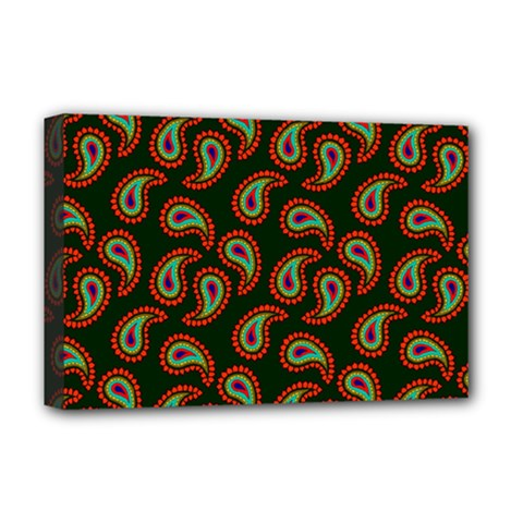 Pattern Abstract Paisley Swirls Deluxe Canvas 18  X 12