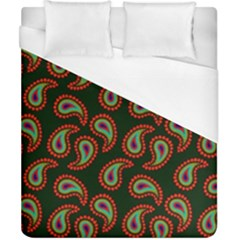 Pattern Abstract Paisley Swirls Duvet Cover (california King Size)