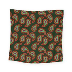 Pattern Abstract Paisley Swirls Square Tapestry (Small)