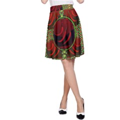 Spanish And Hot A-Line Skirt