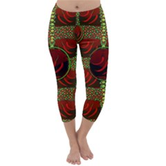 Spanish And Hot Capri Winter Leggings