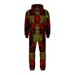 Spanish And Hot Hooded Jumpsuit (Kids)