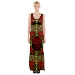 Spanish And Hot Maxi Thigh Split Dress