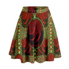 Spanish And Hot High Waist Skirt