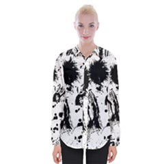 Pattern Color Painting Dab Black Shirts
