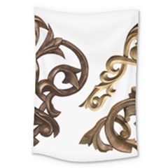 Pattern Motif Decor Large Tapestry