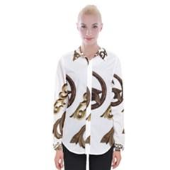 Pattern Motif Decor Shirts