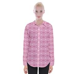Pattern Pink Grid Pattern Shirts