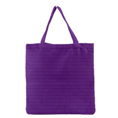 Pattern Violet Purple Background Grocery Tote Bag