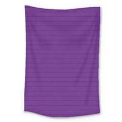 Pattern Violet Purple Background Large Tapestry
