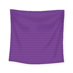 Pattern Violet Purple Background Square Tapestry (Small)