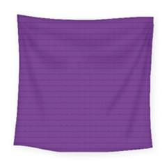 Pattern Violet Purple Background Square Tapestry (Large)