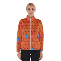 Roof Brick Colorful Red Roofing Winterwear