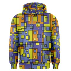 Square Background Background Texture Men s Pullover Hoodie