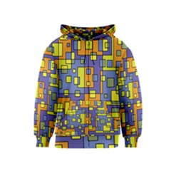 Square Background Background Texture Kids  Zipper Hoodie