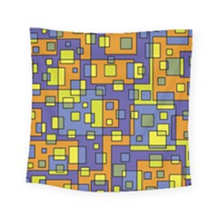 Square Background Background Texture Square Tapestry (small)