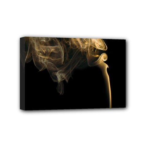 Smoke Fume Smolder Cigarette Air Mini Canvas 6  x 4