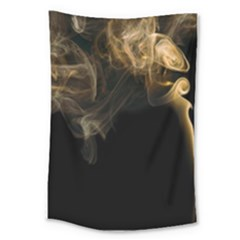 Smoke Fume Smolder Cigarette Air Large Tapestry