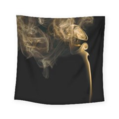 Smoke Fume Smolder Cigarette Air Square Tapestry (Small)