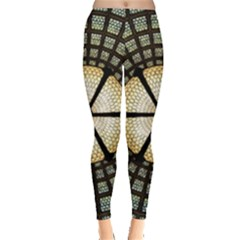 Stained Glass Colorful Glass Leggings