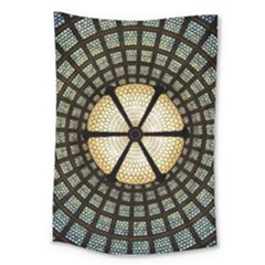 Stained Glass Colorful Glass Large Tapestry