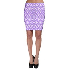 The Background Background Design Bodycon Skirt