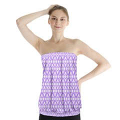 The Background Background Design Strapless Top