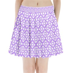 The Background Background Design Pleated Mini Skirt