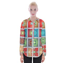 Tiles Pattern Background Colorful Shirts