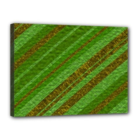 Stripes Course Texture Background Canvas 16  x 12