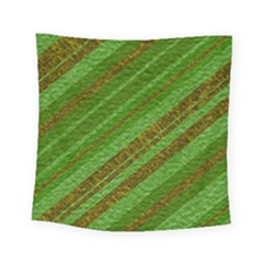Stripes Course Texture Background Square Tapestry (small)
