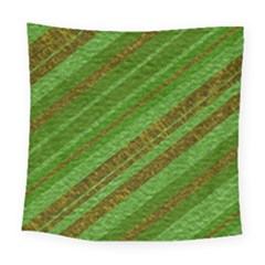 Stripes Course Texture Background Square Tapestry (Large)