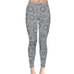 Water Glass Pattern Drops Wet Leggings