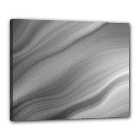 Wave Form Texture Background Canvas 20  x 16